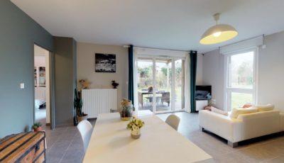 Maison de 100m² à Toulouse 3D Model