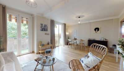 Appartement de 64m² à Villeneuve-Tolosane 3D Model