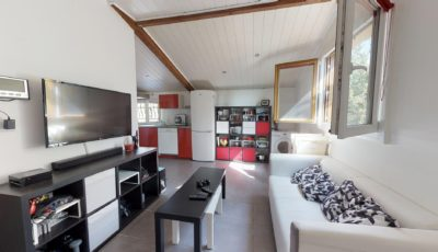 Appartement de 40m² à Villeneuve-Tolosane 3D Model